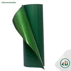 Vinilo Textil - Glitter o Escarchado - Green - 50cm x 1,0 mt