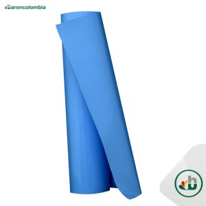 Vinilo Textil - PU - Azul Capri  40158 - 50cm X 1,0 mt