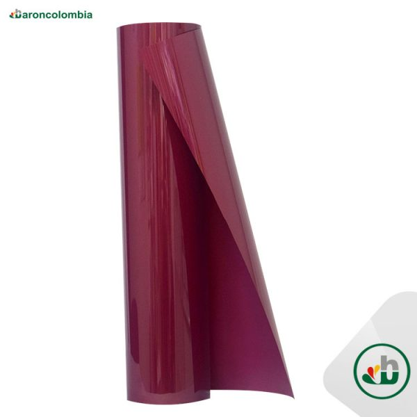 Vinilo Textil - PU - Burgundy  40159 - 50cm X 1,0 mt