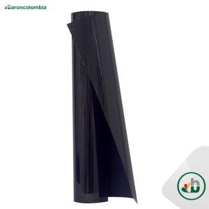Vinilo Textil - Flock Gamuzado - Negro  40163 - 50cm x 1,0 mt