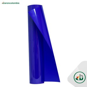 Vinilo Textil - Neón - Azul  40145