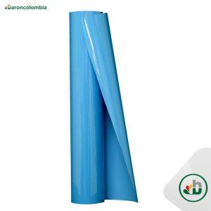 Vinilo Textil - PVC - Azul Claro  40136 - 50cm X 1,0 mt