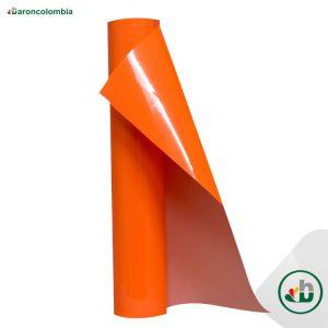 Vinilo Textil - PU - Orange 40200 - 50cm X 1,0 mt