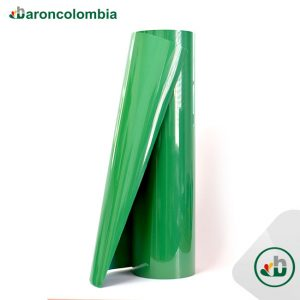 Vinilo Textil - Flock Gamuzado - Green 40191 -50cm x 1,0 mt