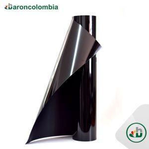 Vinilo Textil - PU - Negro  40152 - 50cm X 1,0 mt