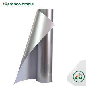 Vinilo Textil - PU - Silver 40193 - 50cm X 1,0 mt
