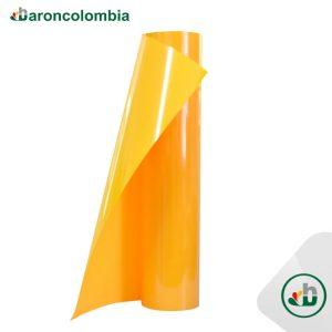 Vinilo Textil - PU - Amarillo  40153 - 50cm X 1,0 mt