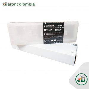 Cartucho Recargable - Stylus Pro 7890/9890/9900 - Plotter Epson - Light Black