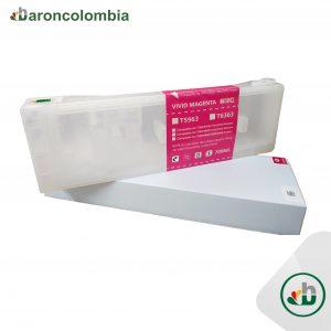 Cartucho Recargable - Stylus Pro 7700/9700/7890/9890/9900 - Plotter Epson - Magenta