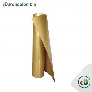 Vinilo Textil - PU - Dorado  40202 - 50cm X 1,0 mt